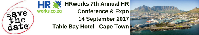 Save the date Cape Town 2017